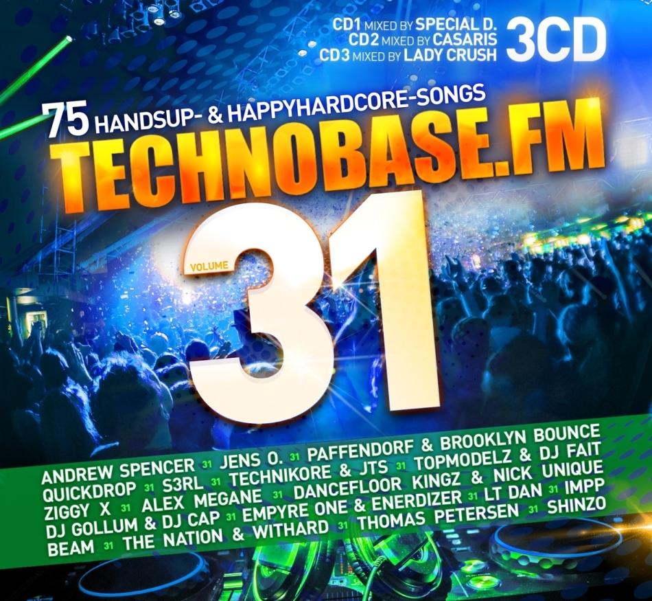 TechnoBase.FM Vol. 31 (3 CDs)