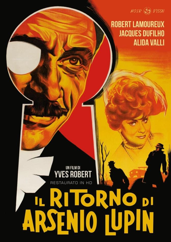 Il ritorno di Arsenio Lupin (1959) (Noir d'Essai, Restaurato in HD, n/b)