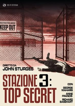 Stazione 3: Top Secret (1965) (Sci-Fi d'Essai, Restaurato in HD, Riedizione)