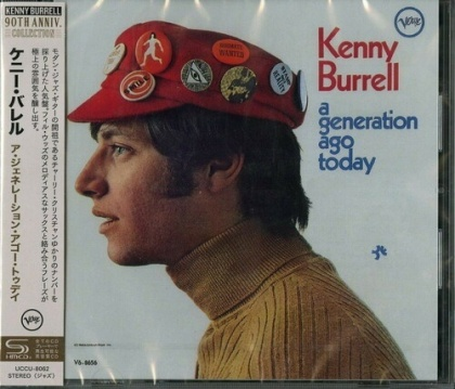 Kenny Burrell - Generation Ago Today (Japan Edition)
