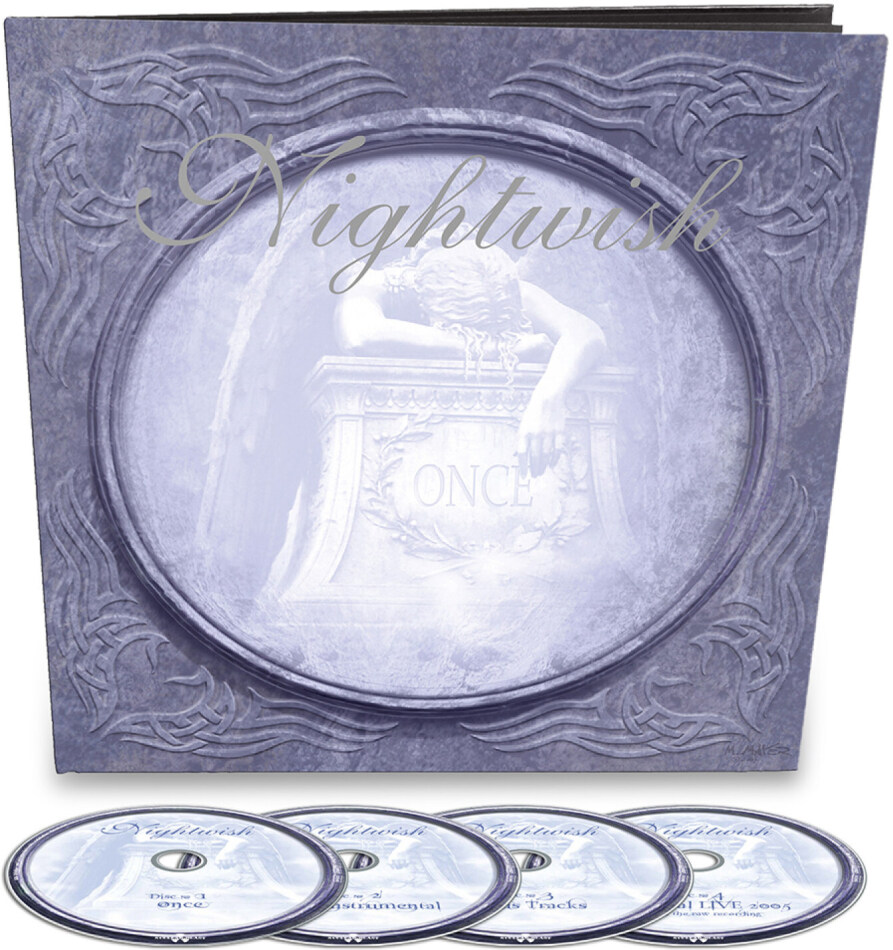 Nightwish - Once (2021 Reissue, Earbook, Nuclear Blast, Remastered, 4 CDs)