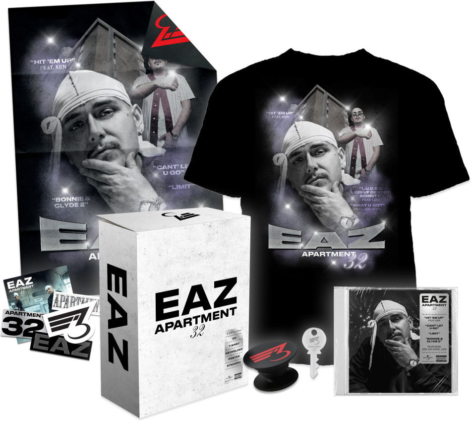 EAZ - Apartment 32 (Deluxe Boxset, + T-Shirt XL, Limited Edition)