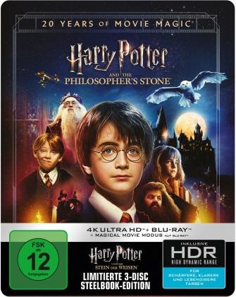 Harry Potter und der Stein der Weisen - Magical Movie Mode (2001) (Jubiläumsedition, 4K Ultra HD + 2 Blu-rays)
