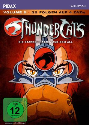 Thundercats - Die starken Katzen aus dem All - Staffel 1 - Vol. 2 (Pidax Animation, 4 DVDs)