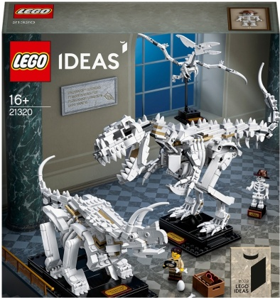 LEGO Dinosaurier-Fossilien 21320