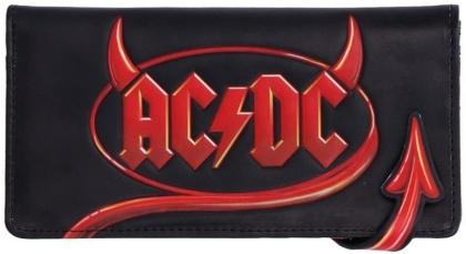 AC/DC: Logo Lightning - Embossed Purse Wallet