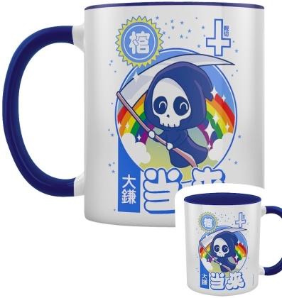 Kawaii Reaper - Blue Inner 2-Tone Mug