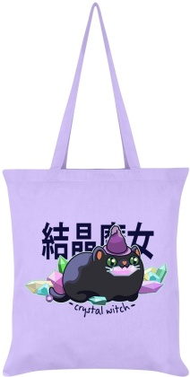 Kawaii Coven: Crystal Witch - Lilac Tote Bag