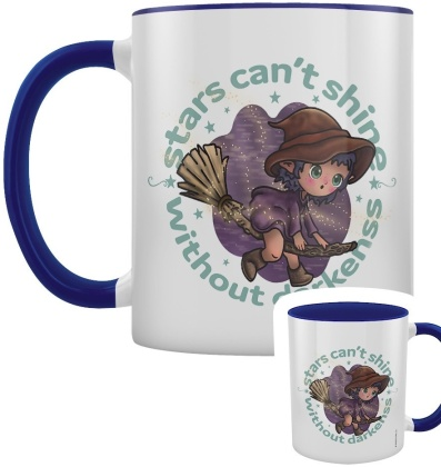 Kooky Witch: Stars Can't Shine Without Darkness - Blue Inner 2-Tone Mug