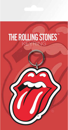 The Rolling Stones Keychain - Classic Tongue