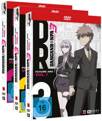 Danganronpa 3 - The End of Hope's Peak High School - Future Arc - Vol. 1-3 (Gesamtausgabe, Bundle, 3 DVDs)