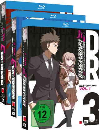 Danganronpa 3 - The End of Hope's Peak High School - Despair Arc - Vol. 1-3 (Gesamtausgabe, Bundle, 3 Blu-rays)