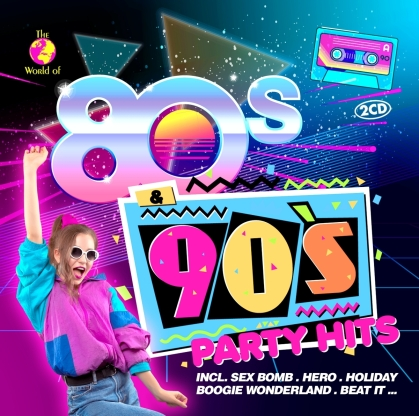 80s & 90s Party Hits (2 CDs)