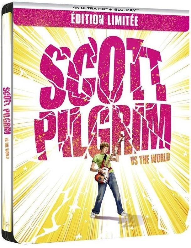 Scott Pilgrim (2010) (Limited Edition, Steelbook, 4K Ultra HD + Blu-ray)