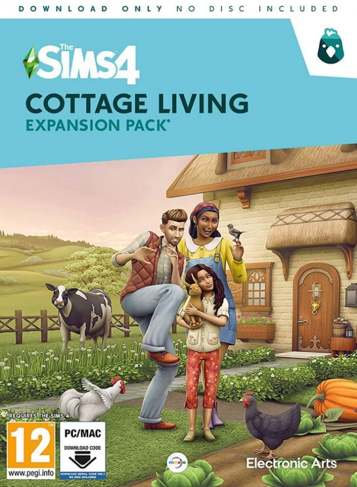 The Sims 4 - Addon Cottage Living - (Code in a Box)
