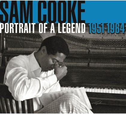 Sam Cooke - Portrait Of A Legend (2021 Reissue, Special Edition, Clear Vinyl, 2 LPs)