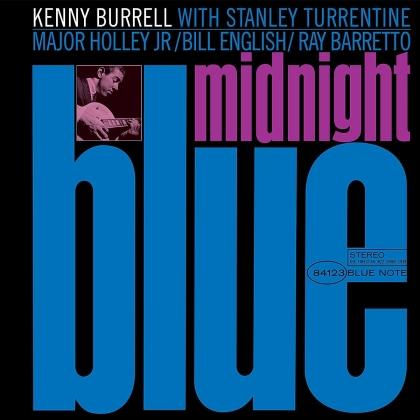 Kenny Burrell - Midnight Blue (2021 Reissue, Blue Note, Remastered, LP)