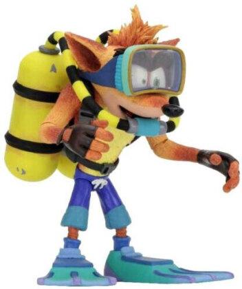 Crash Bandicoot SCUBA 18cm Statue NECA Taucher