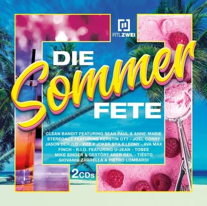 RTL ZWEI Die Sommer Fete (2 CD)