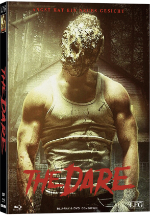 The Dare (2019) (Cover C, Limited Edition, Mediabook, Uncut, Blu-ray + DVD)