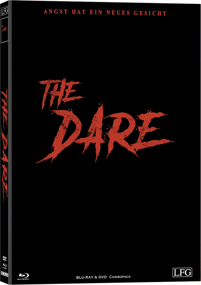 The Dare (2019) (Cover D, Limited Edition, Mediabook, Uncut, Blu-ray + DVD)