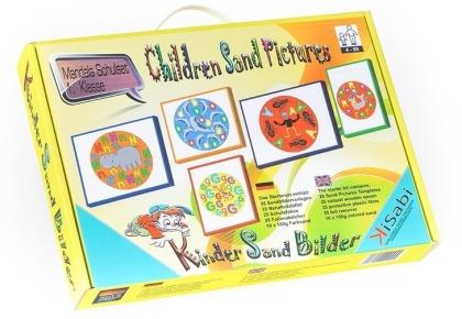 Children's Sand Pictures - Mandala Alphabet Starter Set