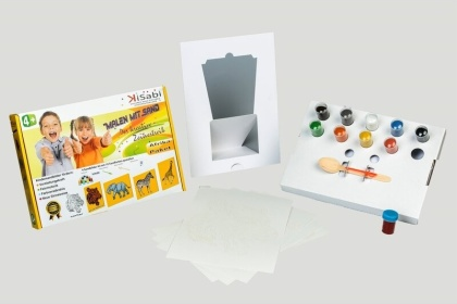 Children's Sand Pictures - Africa A4 Set
