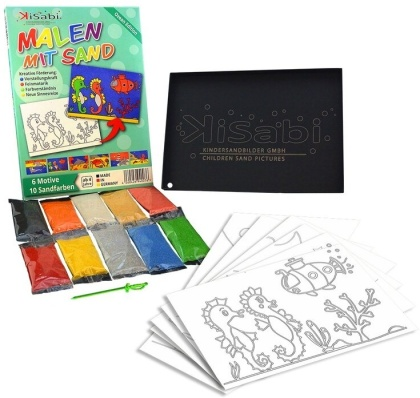 Children's Sand Pictures - Ocean A5 Set