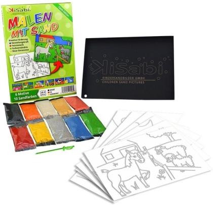Children's Sand Pictures - Farm A5 Set