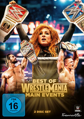 WWE: Best Of Wrestlemania Main Events (2 DVDs)