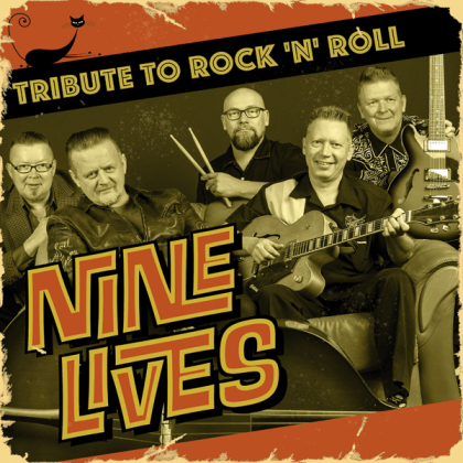 """Nine Lives - Tribute To Rock 'N' Roll (10"""" Maxi)"""