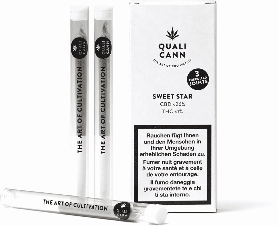 Qualicann Sweet Star - Pre Rolled (3 Joints)