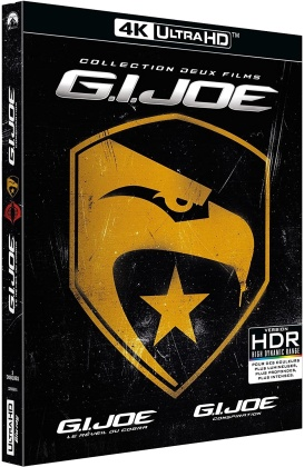 G.I. Joe: Le réveil du Cobra / G.I. Joe: Conspiration (2 4K Ultra HDs)