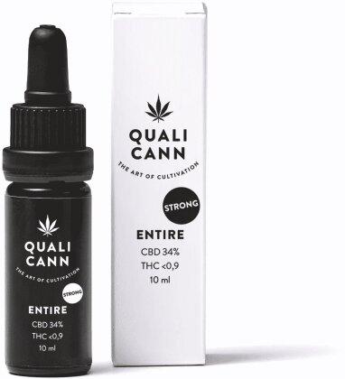Qualicann CBD-Öl Entire (CBD: 34% / THC: 0,9%) - 10ml