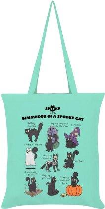 Behaviour of a Spooky Cat - Lilac Tote Bag