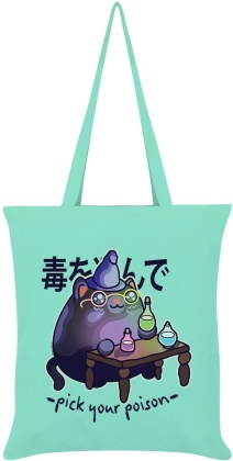 Kawaii Coven: Pick Your Poison - Mint Green Tote Bag