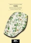 Flora - Label, Sticker & Tape Books