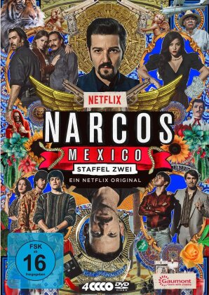 Narcos: Mexico - Staffel 2 (4 DVDs)