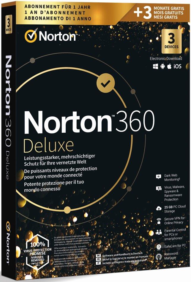 Norton 360 Gold 25GB 3 Device 15MO [PC/Mac/Android/iOS]