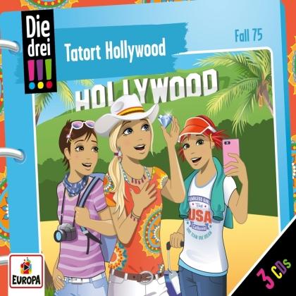 Die Drei !!! - 075/Tatort Hollywood (3 CD)