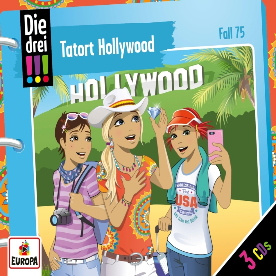 Die Drei !!! - 075/Tatort Hollywood (3 CDs)