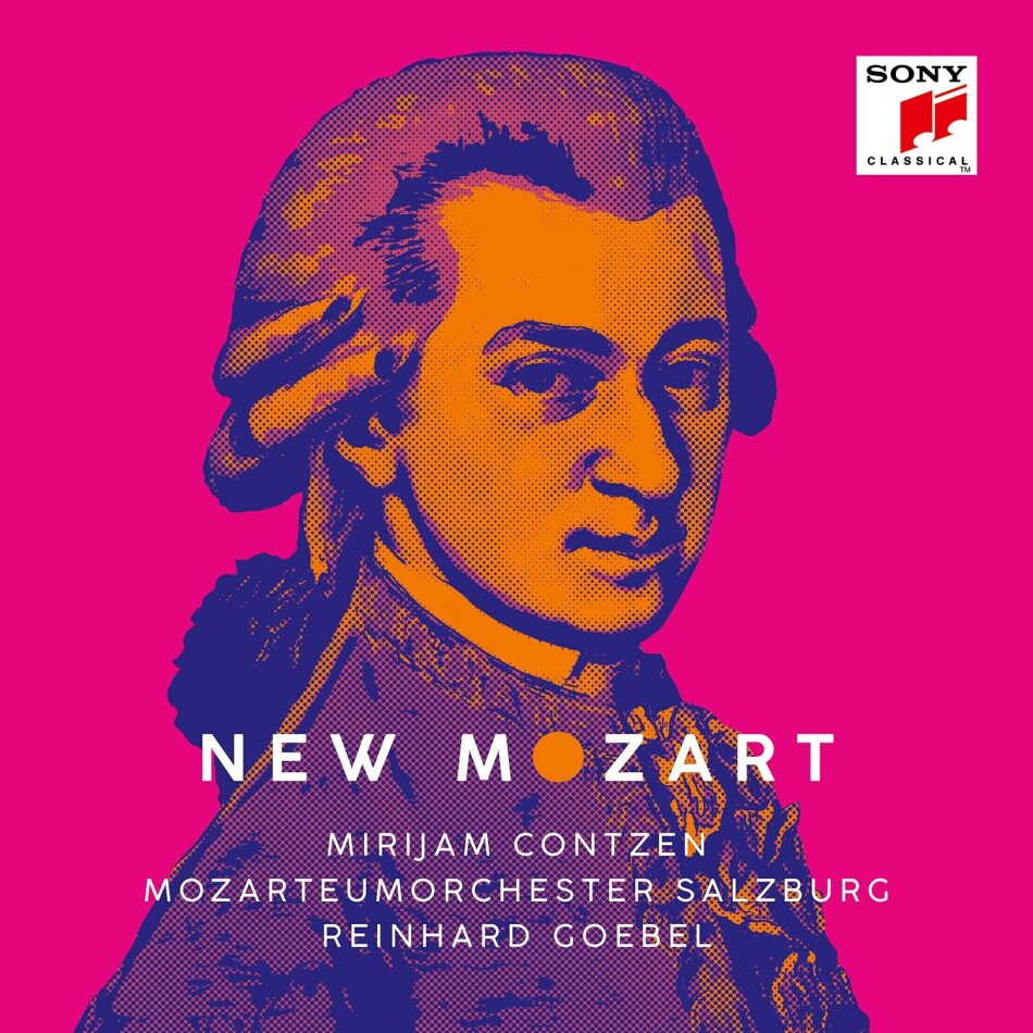 Mozarteum Orchester Salzburg, Wolfgang Amadeus Mozart (1756-1791), Reinhard Goebel & Mirijam Contzen - New Mozart