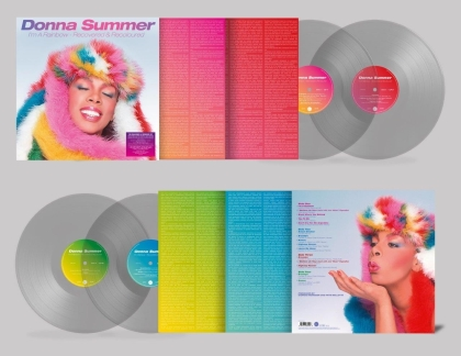 Donna Summer - I'm A Rainbow - Recovered & Recoloured (Demon/Edsel, Clear Vinyl, 2 LPs)