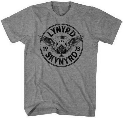 Lynyrd Skynyrd Unisex T-Shirt - Freebird '73 Wings