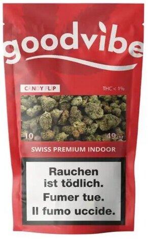 Goodvibe Candy Flip 10g - Indoor (CBD: <20% THC: <0.9%)