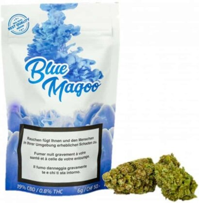 UrbanPharm Blue Magoo (6g) - Indoor (CBD: 19% THC: <1%)