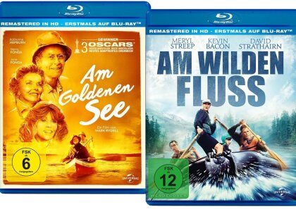 Am wilden Fluss (1994) / Am goldenen See (1981) (Bundle, Limited Edition, 2 Blu-rays)