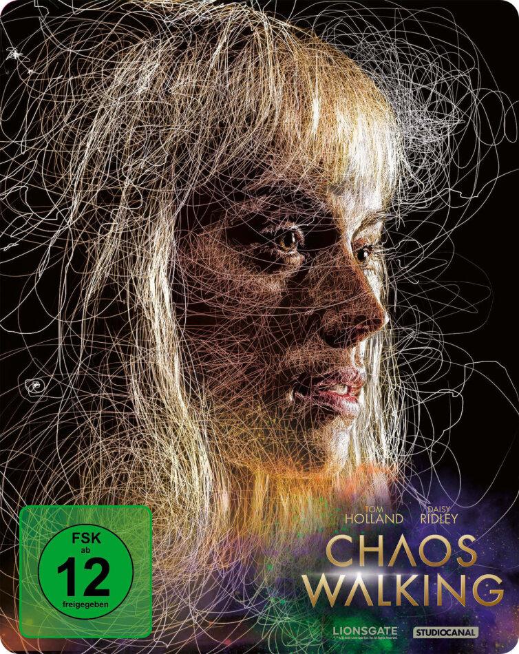 Chaos Walking (2021) (Limited Edition, Steelbook, 4K Ultra HD + Blu-ray)