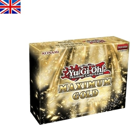 JCC - Coffret Gold Maximum - Yu-Gi-Oh! EN (6 pieces pack)