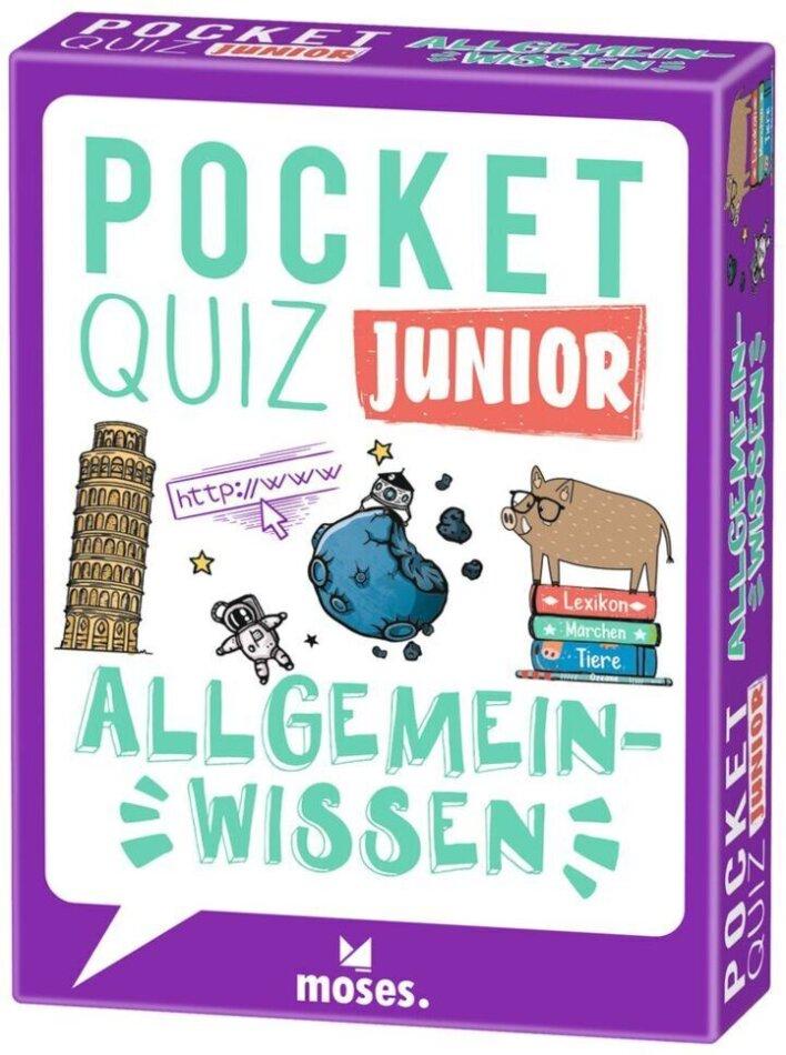 Pocket Quiz junior Allgemeinwissen